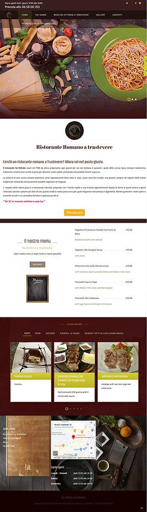 Portfolio-b4-com-sito-web-da-vittorio-a-trastevere